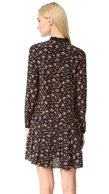 McQ - Alexander McQueen Pintuck Dress