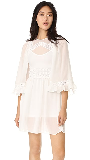 McQ - Alexander McQueen Volume Sleeve Dress