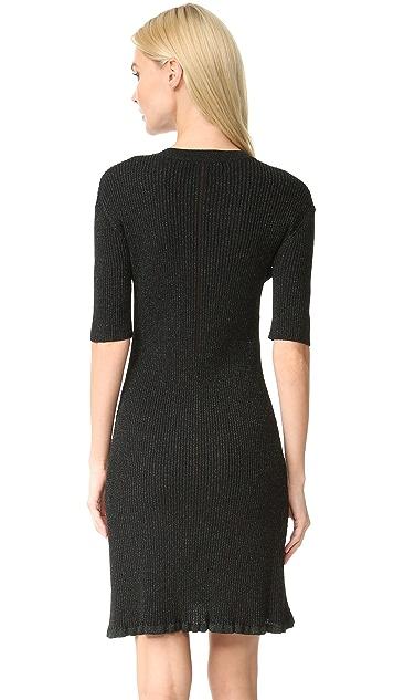 McQ - Alexander McQueen Crochet Skater Dress