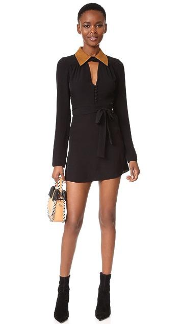 McQ - Alexander McQueen Collar Dress