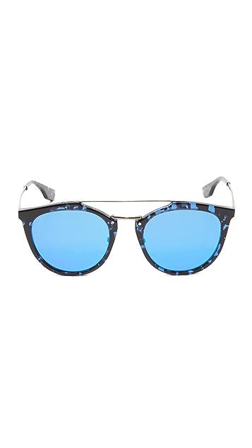 McQ - Alexander McQueen Oxford Mirrored Sunglasses