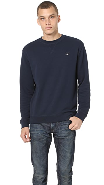 McQ - Alexander McQueen Coverlock Crew Sweatshirt