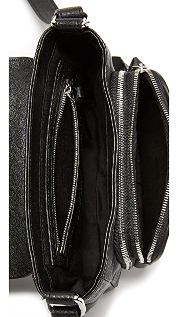 McQ - Alexander McQueen Biker Cross Body Bag