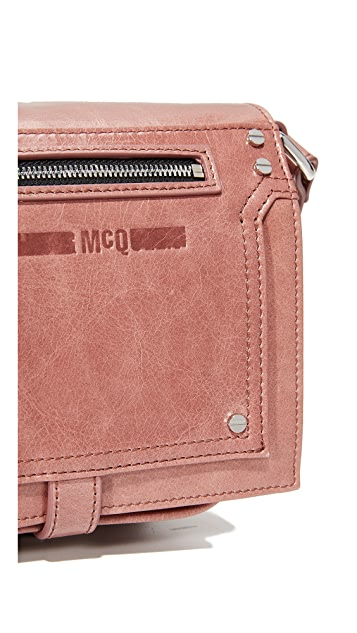 McQ - Alexander McQueen Biker Cross Body Bag