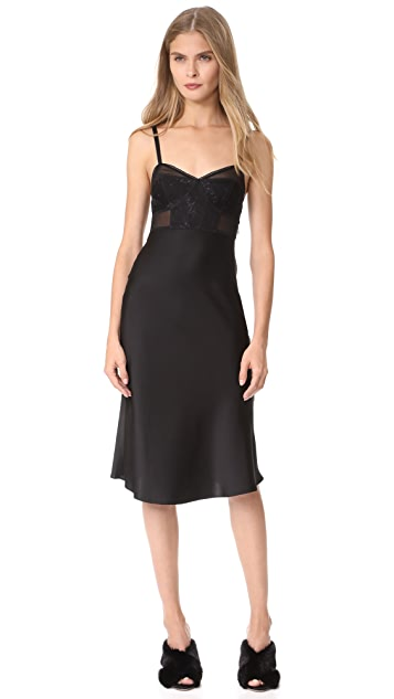 McQ - Alexander McQueen Bra Bias Dress