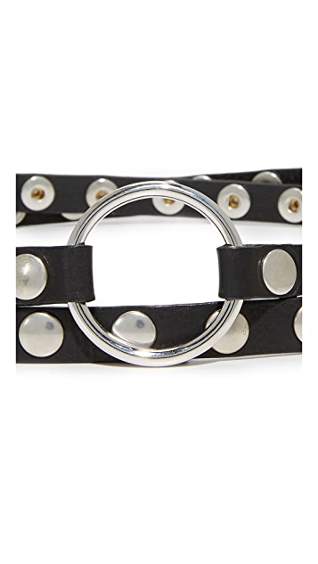 McQ - Alexander McQueen Double Wrap Belt
