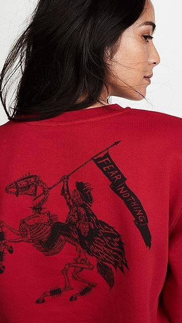 McQ - Alexander McQueen Band Crew Neck Sweatshirt