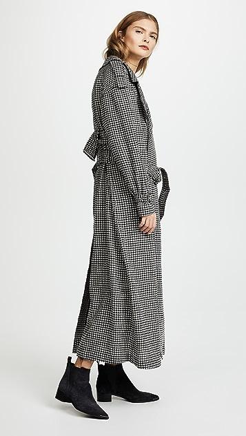 McQ - Alexander McQueen Belted Trench Coat