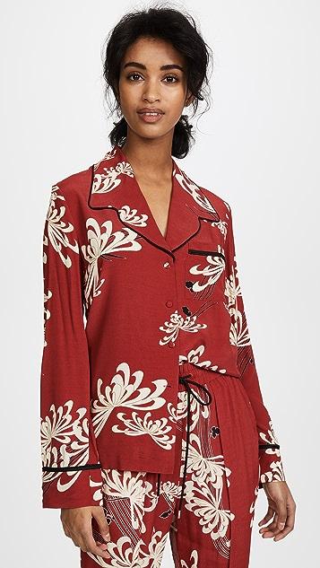 McQ - Alexander McQueen Lounge Shirt - Amp Red