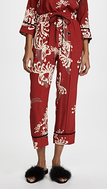McQ - Alexander McQueen Piping Pintuck Track Pants