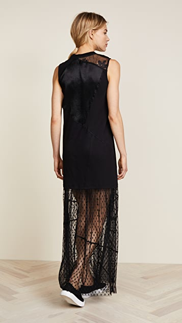 McQ - Alexander McQueen Cut Up Hybrid Dress