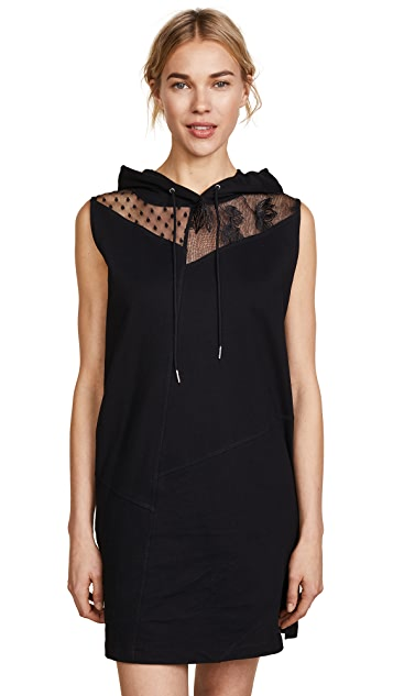 McQ - Alexander McQueen Sleeveless Hoodie Dress