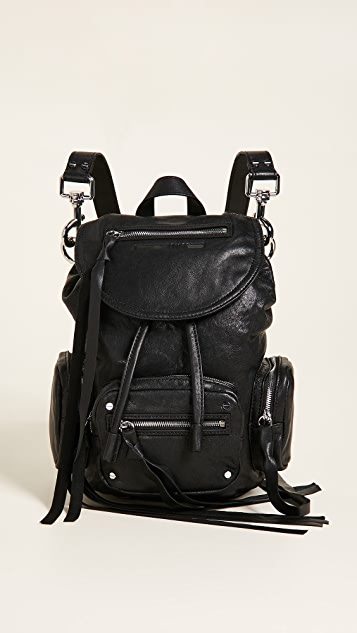 McQ - Alexander McQueen Mini Convertible Drawstring Backpack