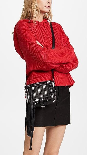 McQ - Alexander McQueen Mini Stud Cross Body Bag