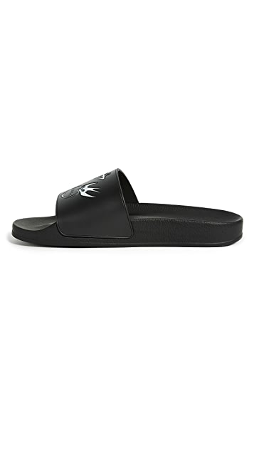McQ - Alexander McQueen Swallow Slide Sandals