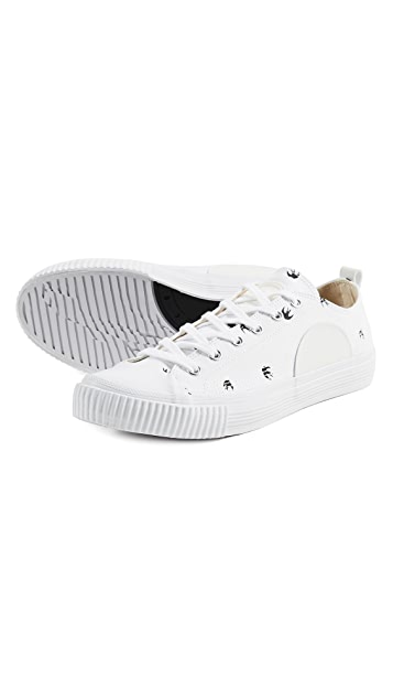 McQ - Alexander McQueen Swallow Plimsoll Sneakers
