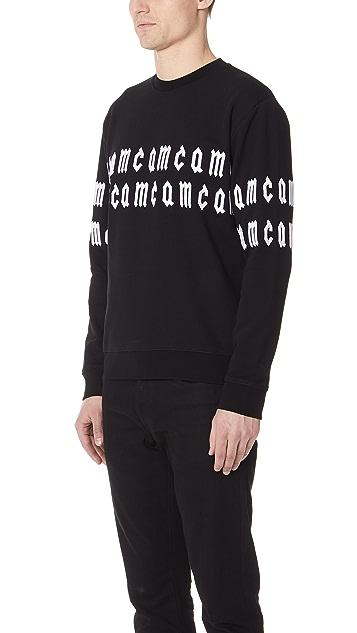 McQ - Alexander McQueen Clean Crew Neck Sweatshirt