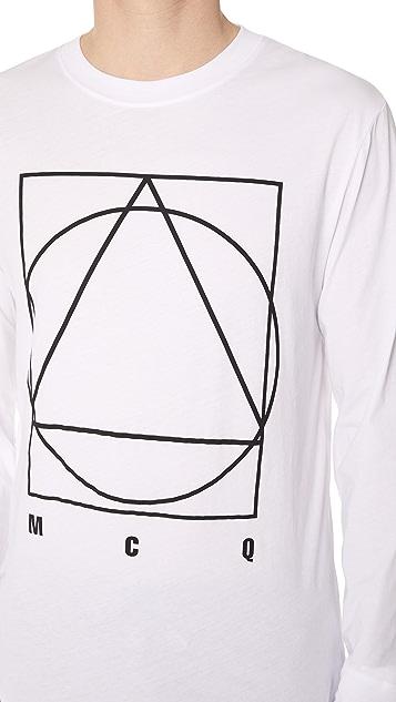 McQ - Alexander McQueen Long Sleeve Crew Tee