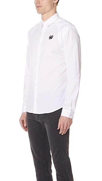 McQ - Alexander McQueen Long Sleeve Harness Shirt