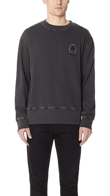 McQ - Alexander McQueen Reverse Crew Neck Sweatshirt
