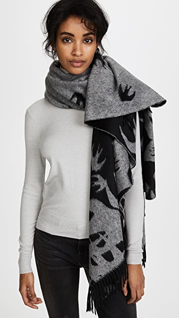 McQ - Alexander McQueen Swallow Poncho