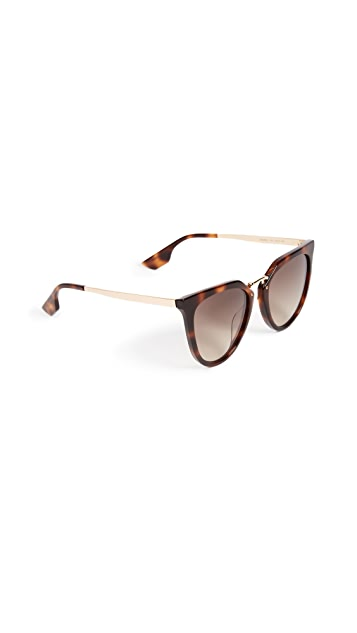 McQ - Alexander McQueen Discord Edgy Cat Eye Sunglasses