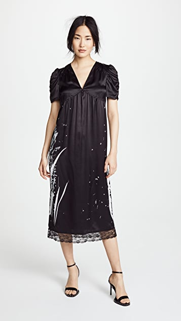 McQ - Alexander McQueen Puff Sleeve Dress