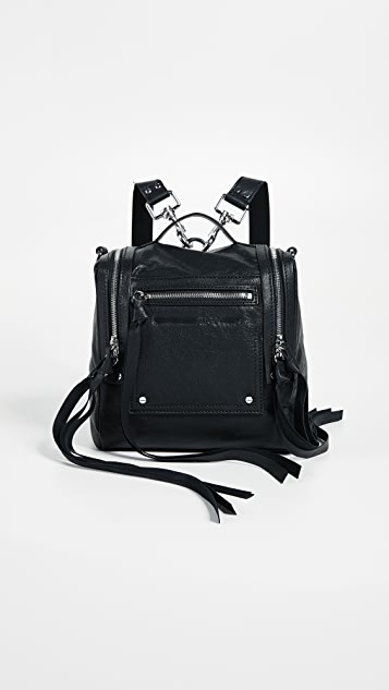 McQ - Alexander McQueen Mini Convertible Box Backpack - Black