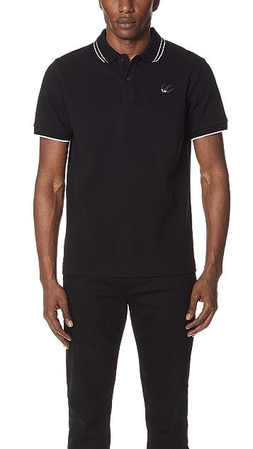 5a586037d McQ - Alexander McQueen McQ Polo Shirt   EAST DANE