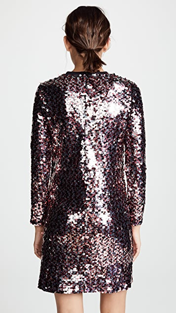 McQ - Alexander McQueen Relaxed Long Sleeve Dress