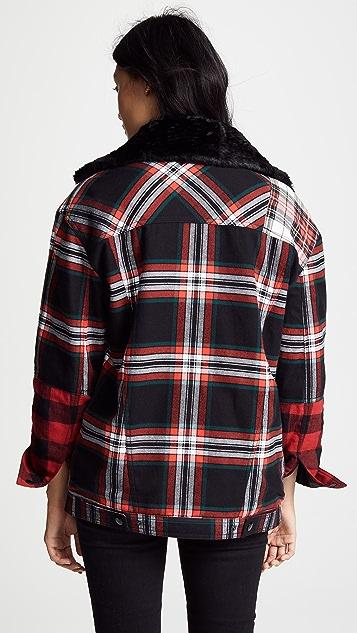 McQ - Alexander McQueen Tartan Boxy Jacket