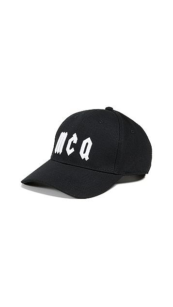 McQ - Alexander McQueen Gothic Logo Baseball Cap