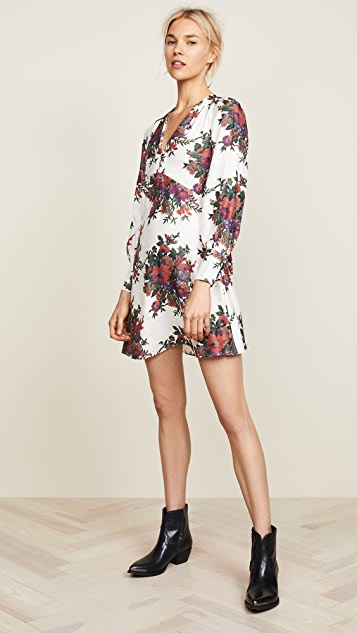 McQ - Alexander McQueen Short Boudoir Dress