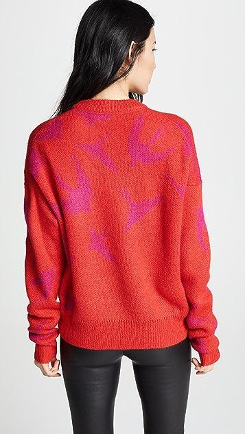 McQ - Alexander McQueen Swallow Swarm Crew Sweater