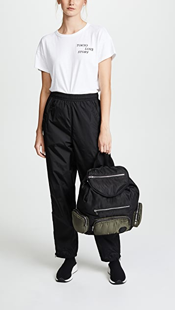 McQ - Alexander McQueen Convertible Drawstring Backpack