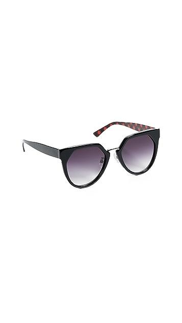 McQ - Alexander McQueen Солнцезащитные очки «кошачий глаз» Suspiria
