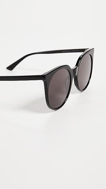 McQ - Alexander McQueen Artstar Logo Cat Eye Sunglasses