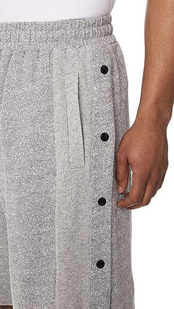 McQ - Alexander McQueen Cotton Press Stud Shorts