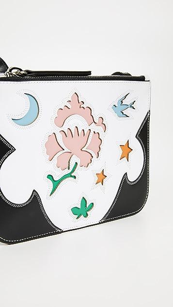 McQ - Alexander McQueen Double Pouch Crossbody Bag