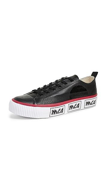 McQ - Alexander McQueen Plimsoll Platform Low Top Sneakers