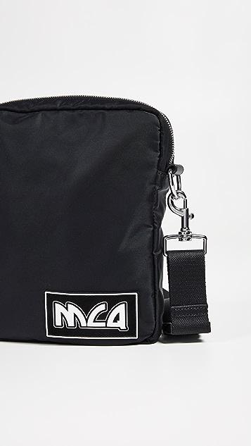 McQ - Alexander McQueen Metal Logo Pouch Bag