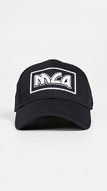 4a28ff653bb McQ - Alexander McQueen Metal Logo Baseball Cap