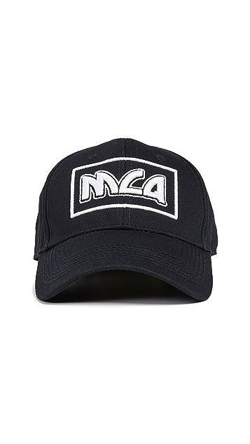 McQ - Alexander McQueen Metal Logo Baseball Cap