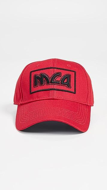 McQ - Alexander McQueen Metal Logo Baseball Cap  c9a61d700770