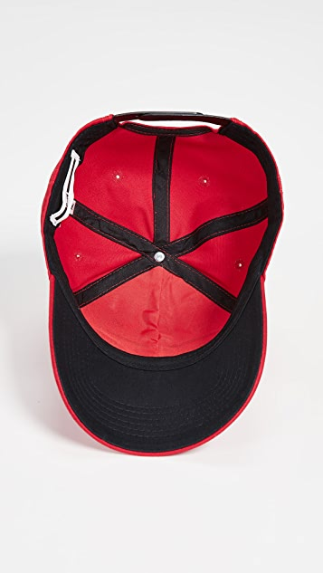 1e97a10bbe5 ... McQ - Alexander McQueen Metal Logo Baseball Cap ...