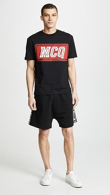McQ - Alexander McQueen Shrunken Low Crotch Shorts