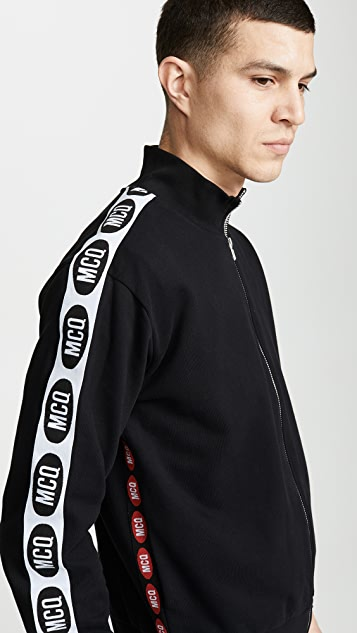 McQ - Alexander McQueen Zip Through Track Jacket