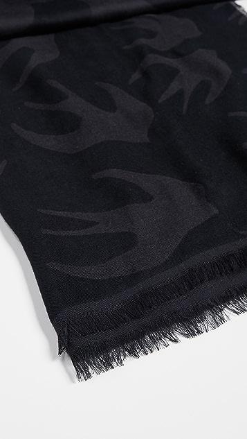 McQ - Alexander McQueen Black Scarf