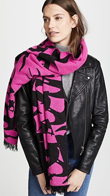 McQ - Alexander McQueen Swallow Cut Up Scarf