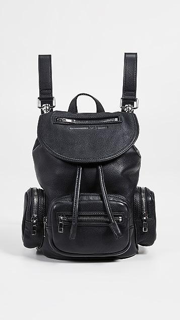 McQ - Alexander McQueen Mini Convertible Drawstring Backpack